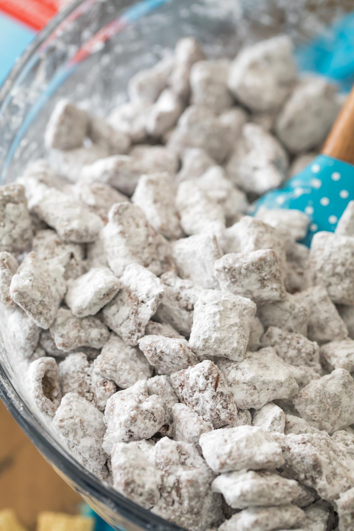 Puppy Chow Muddy Buddies Sugar Spun Run
